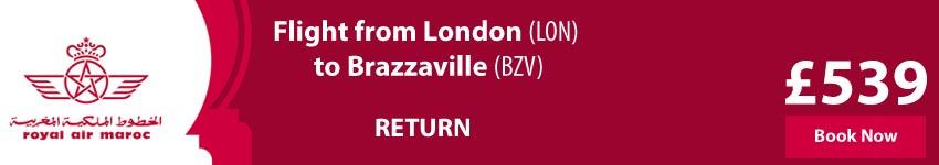 Cheap Flights To Brazzaville