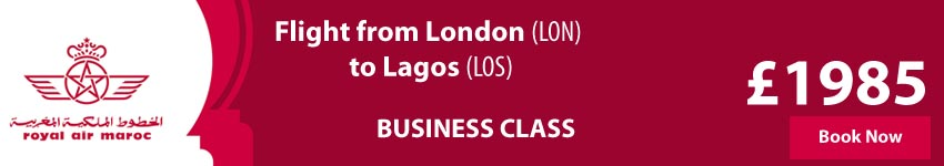 Cheap Flights to Lagos From London